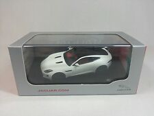 1:43 IXO Premium X Jaguar F-Type Coupe R White Dealer Edition