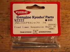 VZ222 Front Lower Suspension Shaft 76 - Kyosho V-One RRR VOne RRR V One RRR