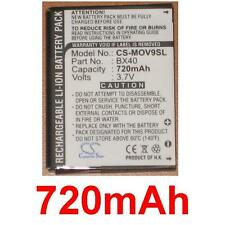 Battery 720mAh type BX40 FNN7012AA SNN5805 For MOTOROLA RAZR2 V8 Luxury