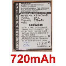 Batterie 720mAh type BX40 FNN7012AA SNN5805 Pour MOTOROLA RAZR2 V8 Luxury