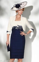 Plus Size Free Jacket Mother of the Bride Dresses Suit Outfit Wedding Mum Dress