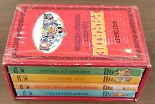 WALT DISNEY PARADE FUN FACT FANTASY FICTION 4 VOLUME BOOK SET - GOOD USED