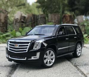 WELLY 1:24 Alloy SUV Static Car Model For Cadillac 2017 ESCALADE Men Gift no box
