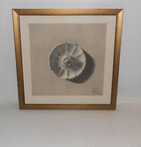 Zeichnung Formen Ornamentik Sachlichkeit 1900 Vintage gerahmt Bilderrahmen