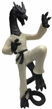 Dragon In Karate Gi Uniform In A Martial Arts Stance Figurine 200g H21cm x W10cm