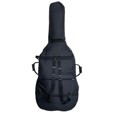 More details for double bass 1/2 size gig bag with back pack straps by j.thibouville-lamy, black