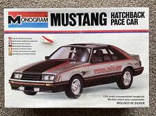 Sealed Vintage Monogram 1979 Mustang Hatchback Pace Car 1:24 Model Kit  #2250