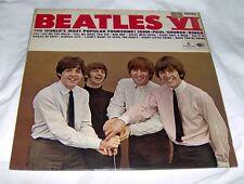 BEATLES VI ULTRA RARE PARLOPHONE LP Black w/Yellow Label GREAT BRITAIN