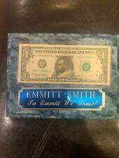 Emmit Smith Dollar Plaque