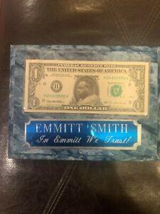 Emmit Smith Dollar Plaque