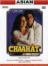 CHAAHAT - BOLLYWOOD DVD - Shahrukh Khan, Pooja Bhatt,Naseeruddin Shah