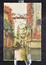 Postcard Venezia Rio Albrizzi Venice Italy