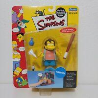 Playmates The Simpsons NELSON MUNTZ Figure World of Springfield Series 3