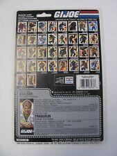 GI Joe Stalker Tracker Full Uncut Filecard 1989 1988 Nice Cond Cobra Canada