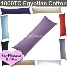 New 1000TC Egypt Cotton Grape Body Pillowcase/Long Pillowcase-48x150cm RRP$110