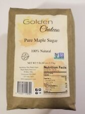 Maple Sugar in a 5 pound bag, made from 100% pure maple syrup