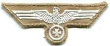 Tropical German Army Heer Breast Eagle Iron Cross White on Tan Repro