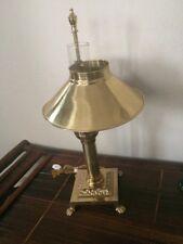 Vintage Brass Orient Express Railway Dining Car Lamp Light Paris Istanbul Desk