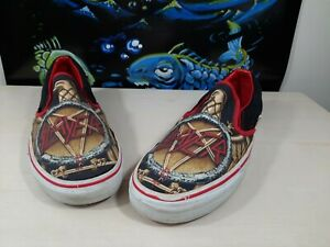 """Vans Classic Slip-on X Slayer """"Decade Of Aggression"""" Rare Ships FAST!"""