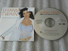 CD-SHANIA TWAIN-THAT DON'T IMPRESS ME MUCH-COME ON OVER(CD SINGLE)-1998- 2 TRACK