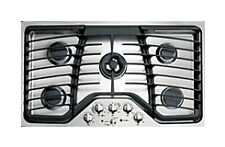 New listing Brand New Ge Pgp986Set Stainless Steel 36 in. Gas Gas Cooktop