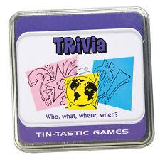 Tintastic Trivia Game - Travel Game