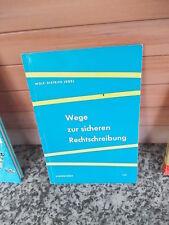 Wege zur sicheren Rechtschreibung, von Wolf-Dietrich Jägel, aus dem Schöningh Ve