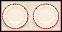 Vernon Kilns California MONTEREY Salad Plate Set 2 Exc