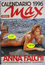 Calendar sexy-ANNA FALCHI nude - Calendario MAX 1996