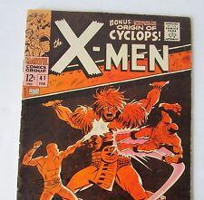 """Comics Marvel """" X-MEN #41 en V.O 1967"""