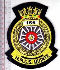 Canada Royal Canadian Navy RCN WWII HMCS Quinte J-166 Minesweeper Bangor Class