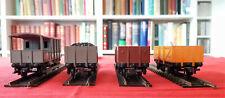 Hornby Dublo  OO gauge 3 x wagons plus guard's van - JOB LOT