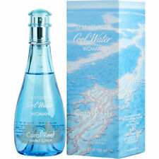 COOL WATER CORAL REEF 100ml EDT SPRAY FOR WOMEN BY DAVIDOFF -------- NEW PERFUME
