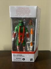 "HASBRO STAR WARS BLACK SERIES 6"" SITH TROOPER HOLIDAY EDITION"