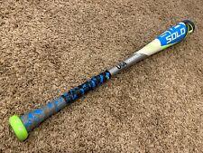 "HOT! Louisville Solo 618 28""/17oz (-11) 2-5/8 Baseball Bat USA Barely Used"