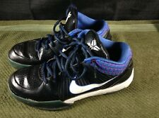 RARE 2009 Nike Zoom KOBE IV 344335-013 Mens US Size 10.5 BLACK WHITE RED BLUE