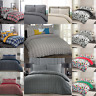 Nimsay 100% Brushed Cotton Duvet Cover Flannel Check Floral Geometric Quilt Set