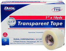Transpore Medical Tape Latex-free Hypoallergenic Transparent First Aid EMT