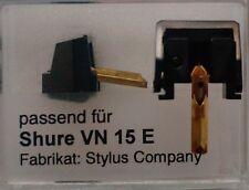 1 pièces de rechange aiguille pour shure vn15e NEUF 22,50 euros incl. expédition
