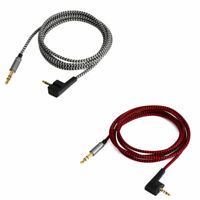 Nylon Audio Cable For Sennheiser HD438 HD439 HD451 HD461G/i HD471i headphones