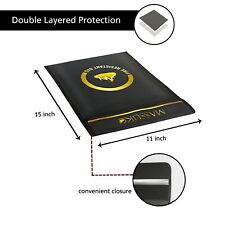 Fireproof Document Bag 15 x 11� + Free waterproof phone pouch