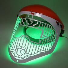 LED Light Therapy Face Mask Skin Photon Rejuvenation Acne Red Green Blue L5U7