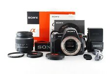 Sony Alpha A230 Camera DSLR with 18-55mm f3.5/5.6 Lens  From Japan #001