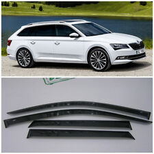 For Skoda Superb Combi 2015-2018 Side Window Visors Rain Guard Vent Deflectors