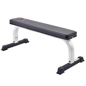 York FTS Flat Weight Bench Dumbbell Gym Lifting Fitness Workout Light Commercial