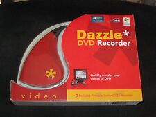 Dazzle DVD Recorder Plus Pinnacle Instant Transfer Camcorder or VHS to DVD
