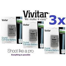 3 Vivitar En-El14a Li-on Battery for Nikon D3300, D5100, D5200, D5300, D5500