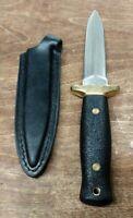 Vintage C.I 440 Stainless Steel 511 Japanese Boot Dagger Knife w/ Sheath