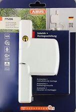 Abus FTS 206 Weiss - Silber - Braun Fenstersicherung Einbruchschutz
