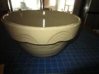 "VTG  Pottery Mixing Bowl R R P USA ROSEVILLE GOLD Robinson Ransbottom RARE 12"""